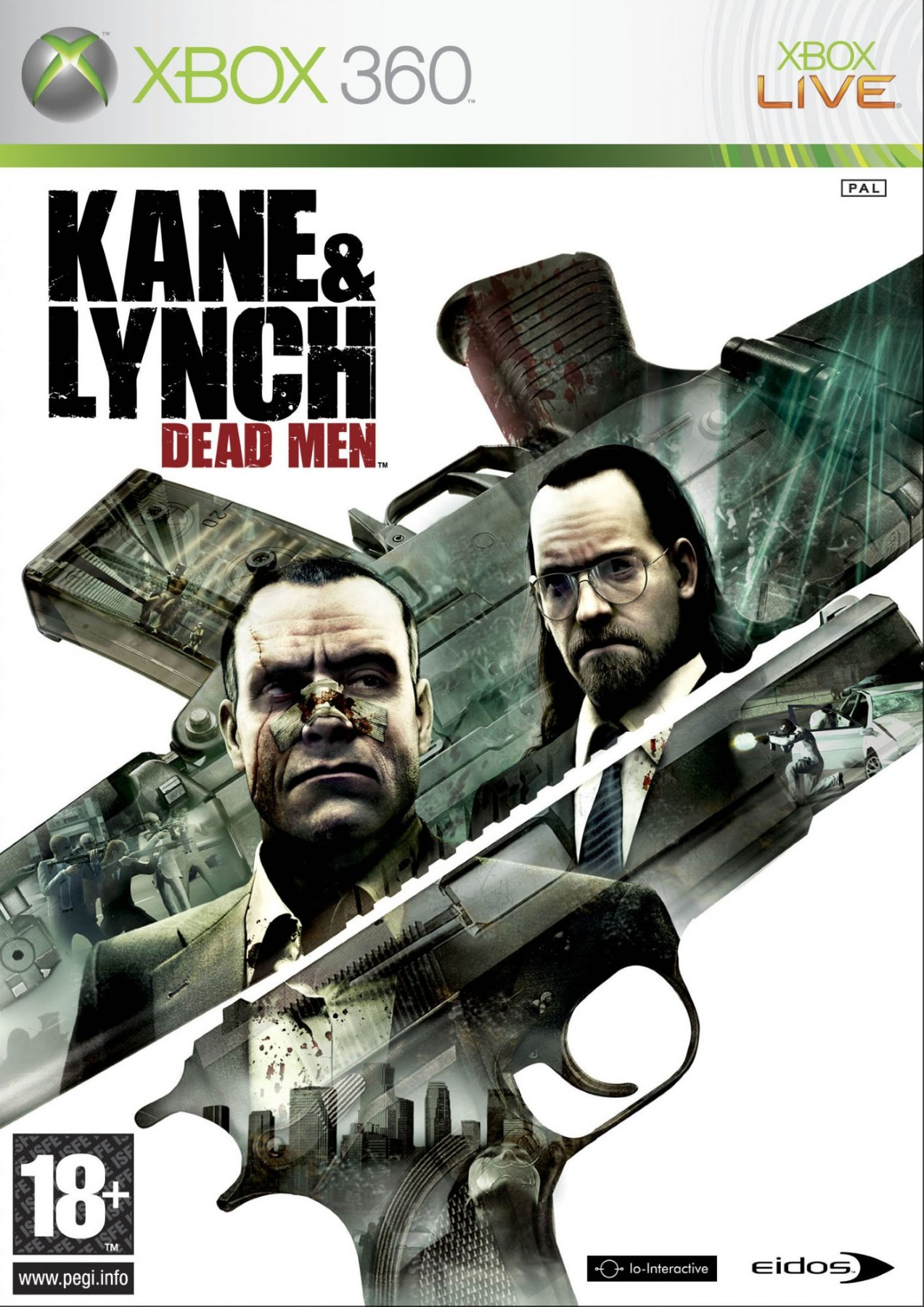 Kane & Lynch Dead Men б/у X360