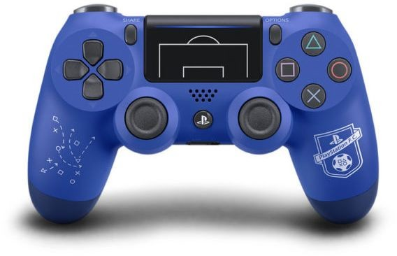 Dualshock 4 Wireless Controller V2 F.C. Limited Edition Blue