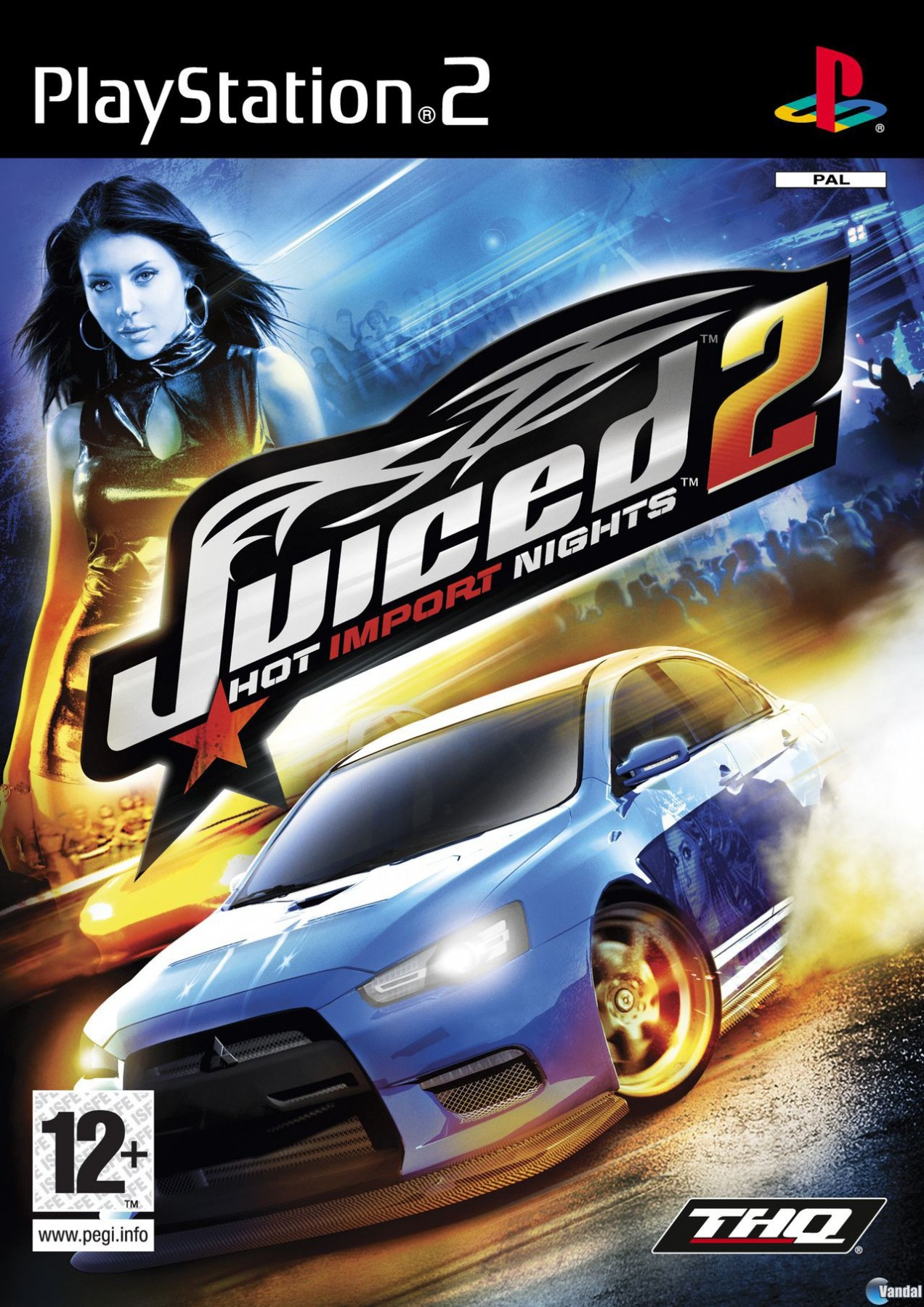 Juiced 2 Hot Import Nights б/в PS2