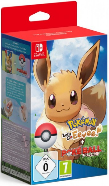 Pokemon: Let's Go, Eevee! + аксессуар PokeBall Plus