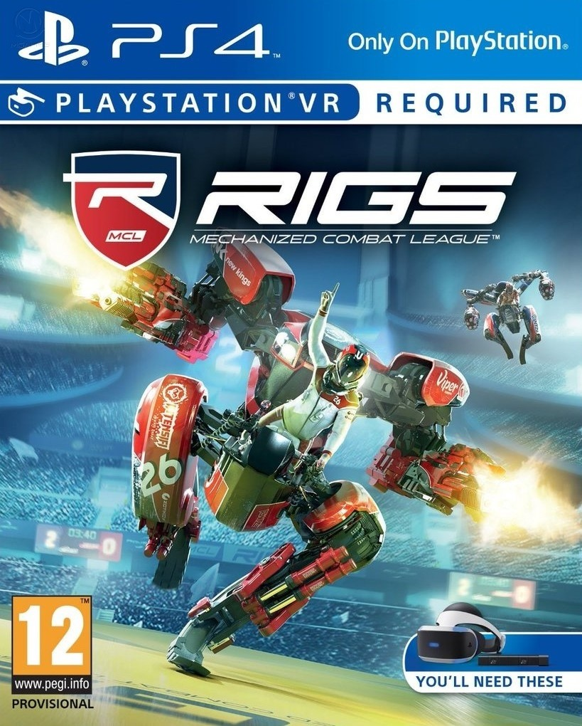 RIGS: Mechanized Combat League (только для VR)