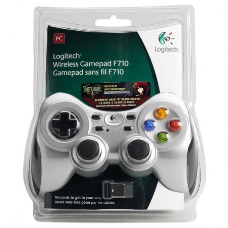 Бездротовий контролер/джойстик/геймпад Logitech Wireless Gamepad F710
