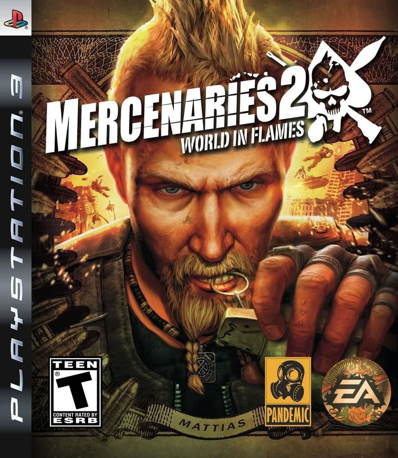 Mercenaries 2 World in Flames б/у PS3