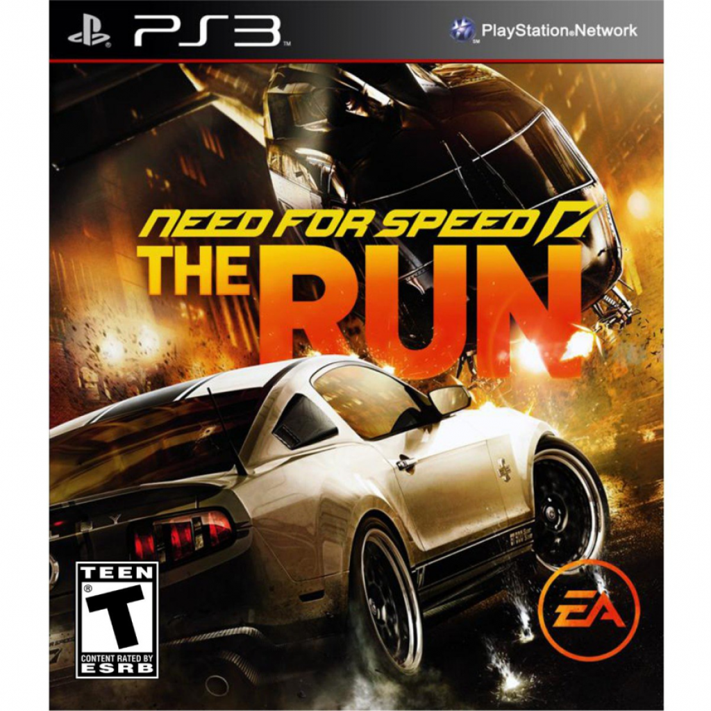 Need For Speed The Run б/у PS3
