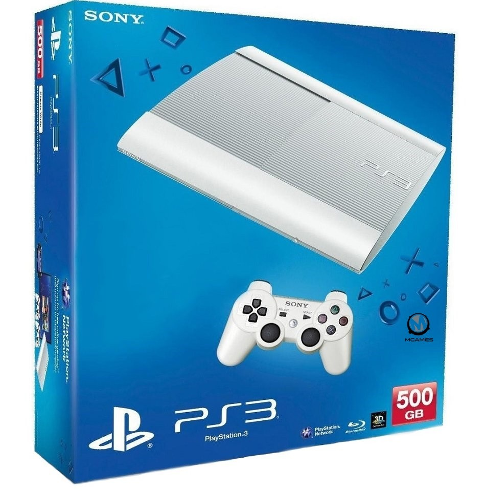 Sony PlayStation 3 Super Slim 500gb White