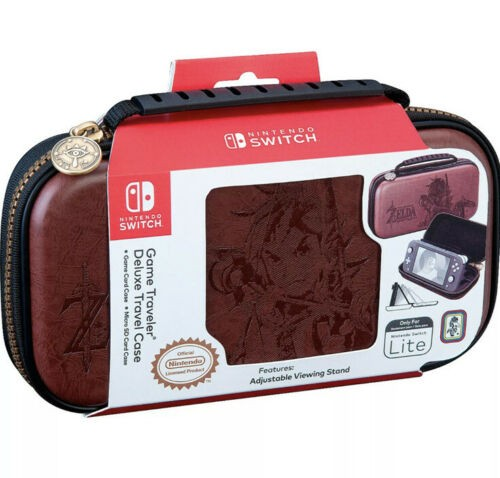 Захисний чохол Deluxe Travel Case for Nintendo Switch Lite The Legend of Zelda Breath of the Wild Brown (Коричневий) SWITCH
