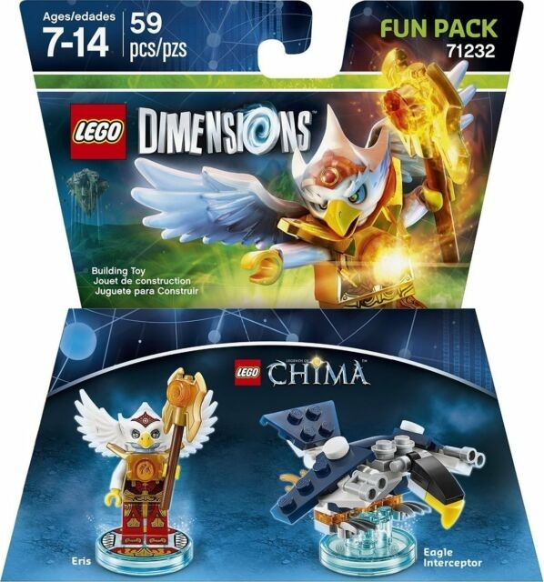 LEGO Dimensions Fun Pack - Lego Legend of Chima (Eris, Eagle Interceptor)