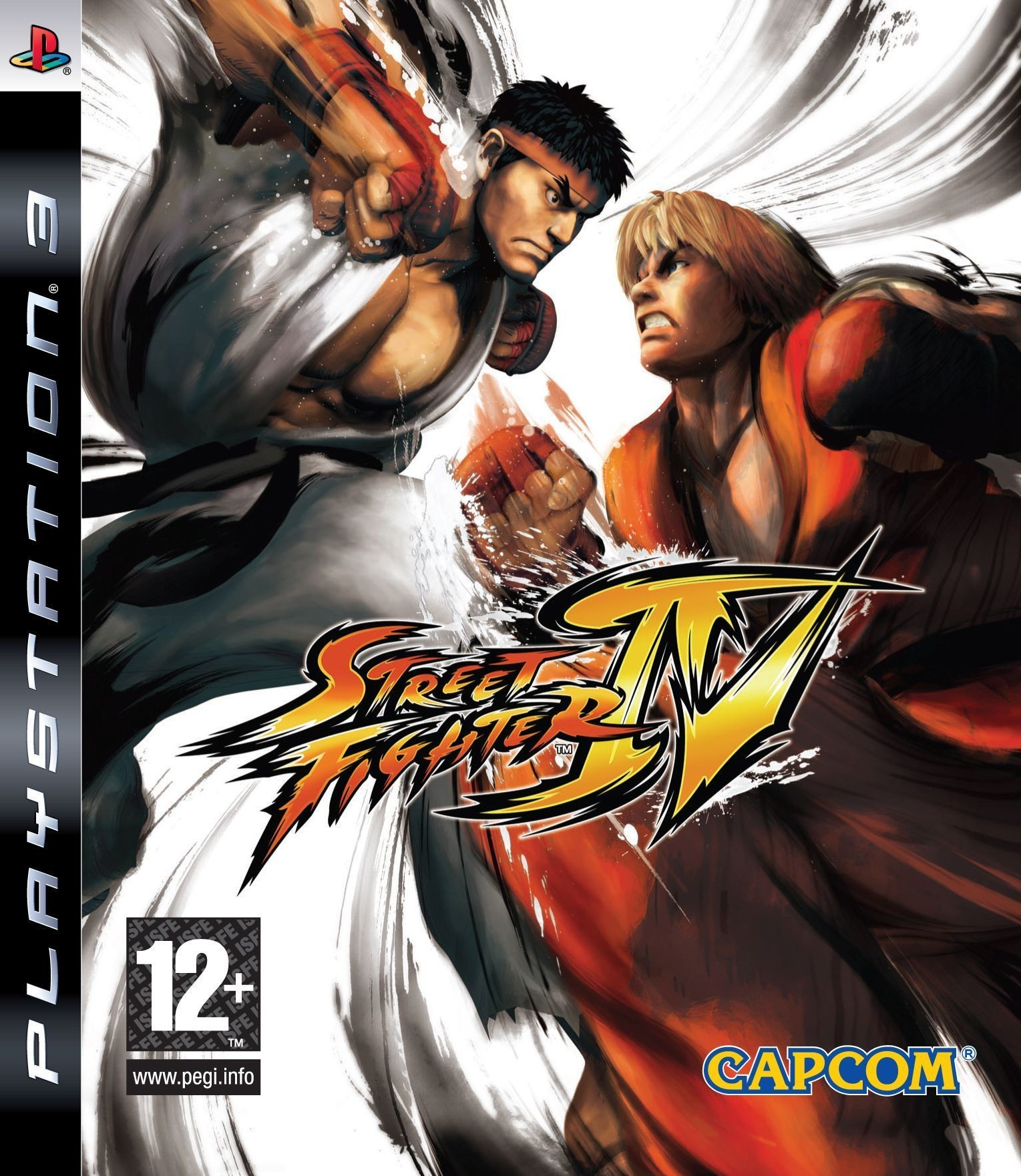 Street Fighter IV б/в PS3