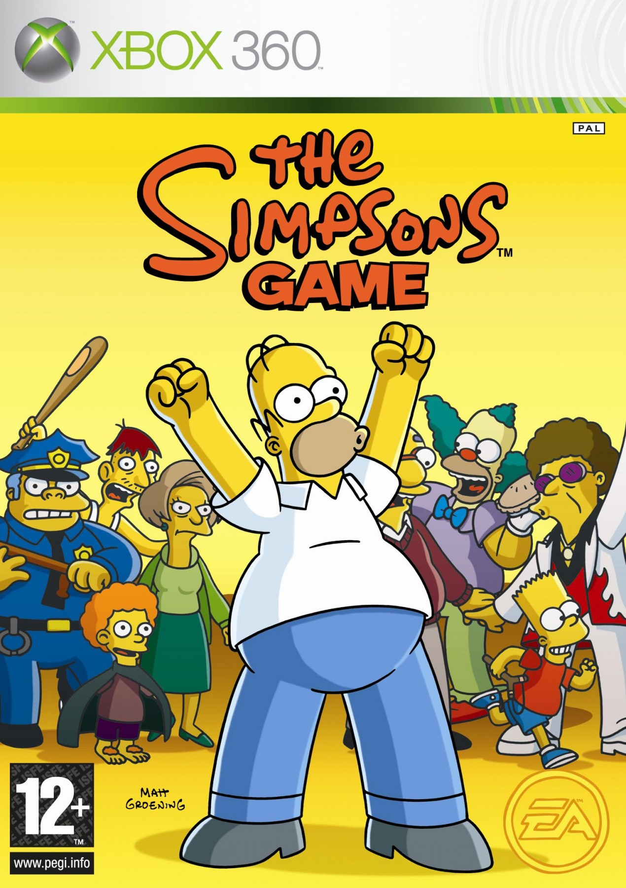 The Simpsons Game б/в X360