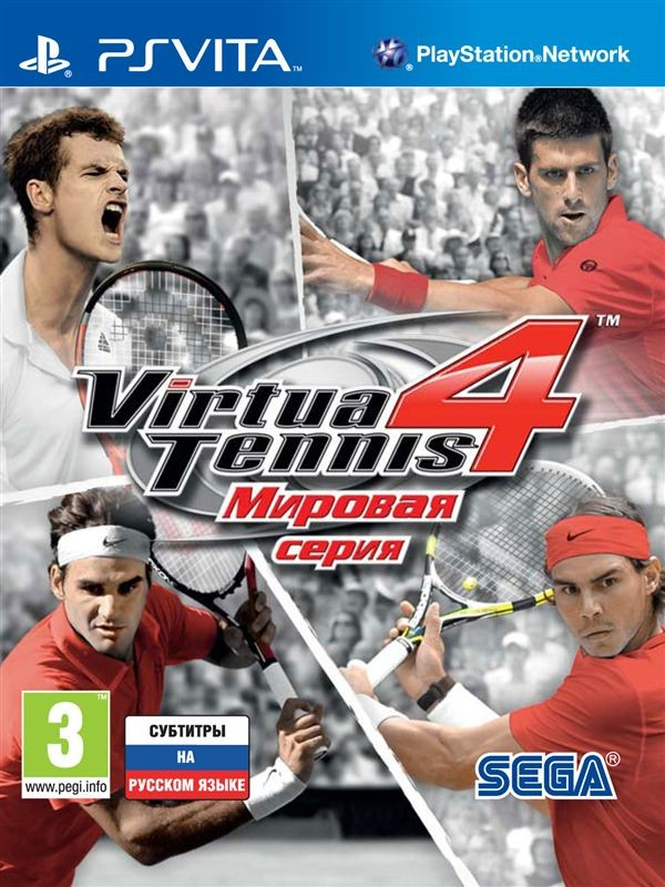Virtua Tennis 4: World Tour Edition.